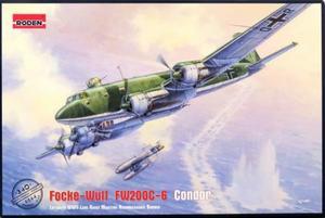 1/144 独・フォッケウルフ Fw200C-6 コンドル対艦攻撃機・Hs293 対艦ミサイル付