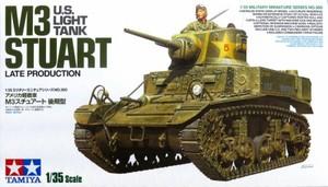 1/35 アメリカ戦車 M3スチュアート 後期型