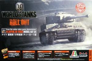 1/35 WORLD OF TANKS ドイツ 重戦車 VI号戦車 ティーガー1型