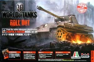 1/35 WORLD OF TANKS ドイツ 中戦車 V号戦車 パンター