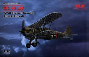 1/32 ドイツ空軍 フィアット CR.42 LW