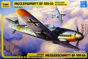 1/48 メッサーシュミット Bf-109 G-6