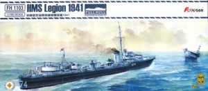 1/700 イギリス海軍駆逐艦 リージョン 1941年