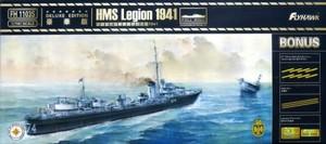 1/700 イギリス海軍駆逐艦 リージョン 1941年 デラックスエディション
