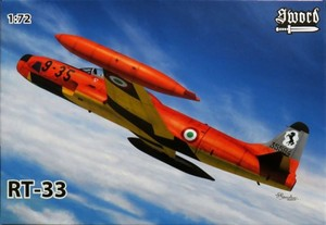 1/72 RT-33 シューティングスター 「偵察機」