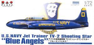 1/72 アメリカ海軍練習機 TV-2 シューティングスター `ブルーエンジェルス`