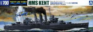 1/700 英国重巡洋艦ケント ベンガジ攻撃作戦