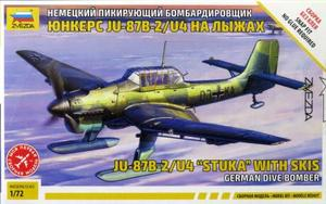 1/72 Ju-87 B-2/U4 スツーカ w/スキー