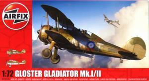 1/72 グロスター グラディエーター Mk.I/II