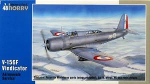 1/48 V-156F ヴィンディケイター 急降下爆撃機・フランス海軍