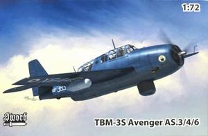 1/72 TBM-3S/アベンジャー AS.4 対潜攻撃機