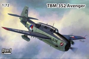 1/72 TBM-3S2 アベンジャー 対潜攻撃機