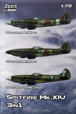 1/72 スピットファイア Mk.XIV `3 in 1`