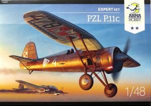 1/48 PZL P.11c 「エキスパートセット」