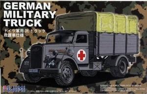 1/72 ドイツ軍用3tトラック 救護車仕様