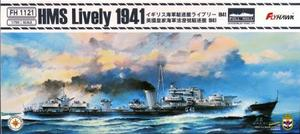 1/700 イギリス海軍 駆逐艦 ライブリー 1941年