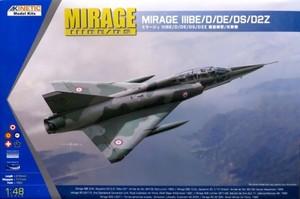 1/48 ミラージュIII BE/D/DE/DS/D2Z 複座練習/攻撃機