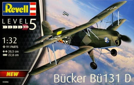 1/32 ビュッカー Bü-131ユングマン