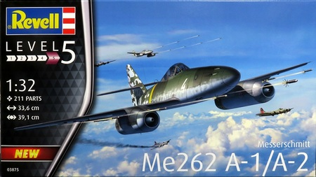 1/32 メッサーシュミット Me262 A-1 ジェット戦闘機