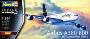 1/144 エアバス A380-800 ルフトハンザ New Livery