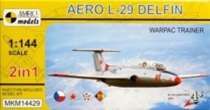 1/144 アエロ L-29 デルフィン 「ワルシャワ条約機構訓練機」 2機セット