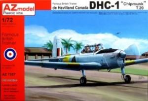 1/72 デ・ハビランド・カナダ DHC-1 チップマンク T.20
