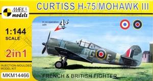 1/144 カーチスH-75 モホークMk.III「イギリス・フランス仕様」(2キット入)
