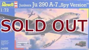 1/72 ユンカース Ju290A-7 偵察機