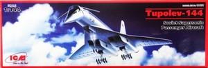 1/144 ロシア ツポレフTu-144 音速旅客機 コンコルドスキー