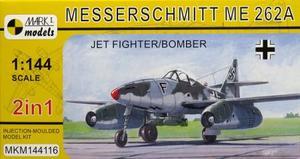 1/144 Me262A 「戦闘爆撃機」 (2 in 1)