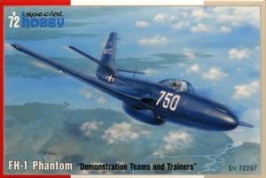1/72 マクダネル FH-1 ファントム 艦上戦闘機 展示チーム&トレーナー