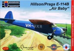 1/72 ヒルソン・プラガ E-114B 「エア・ベイビー」 ライトプレーン