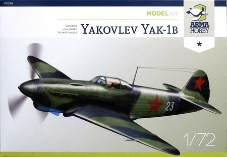 1/72 露・ヤクYAK-Ib 戦闘機