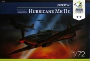 1/72 英・ホーカー・ハリケーン Mk.IIc 戦闘機・エキスパート版