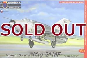 1/72 MiG-21MF 「ワルシャワ条約加盟国」