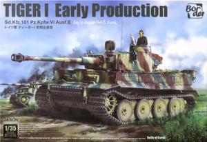 1/35 ドイツ タイガーI 初期生産型