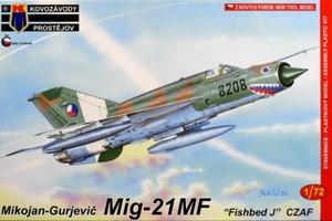 1/72 MiG-21MF 「チェコ空軍」