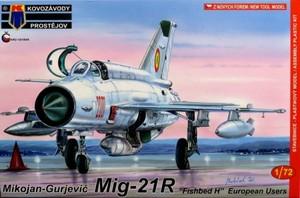 1/72 MiG-21R 「ヨーロッパ」
