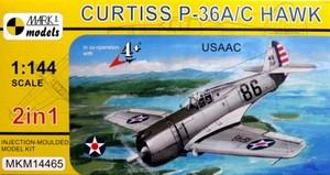 1/144 P-36ホーク「アメリカ陸軍航空隊」(2キット入)
