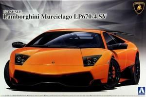 1/24 ランボルギーニ ムルシエラゴ LP670-4 SV