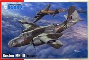 1/72 英・ダグラス・ボストンMk.III夜間戦闘・侵入機