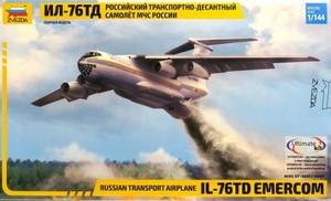 1/144 イリューシン IL-76TD EMERCOM ロシア輸送機
