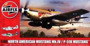 1/48 ノースアメリカン ムスタング Mk.IV
