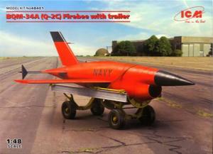 1/48 BQM-34A (Q-2C) ファイアビー w/トレーラー