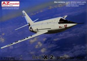 1/72 ベル X-2 `スターバスター` #6675