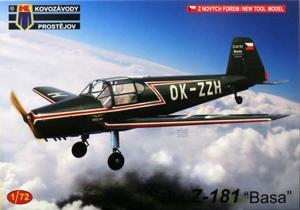 1/72 ズリン Z-181 `バサ` 「民間機」