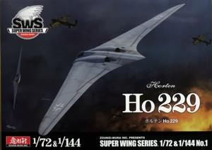 1/72 & 1/144 ホルテン Ho 229