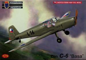 1/72 ズリン C-6 `バサ` 「チェコ空軍」