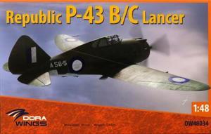 1/48 リパブリック P-43B/C ランサー 「偵察機」