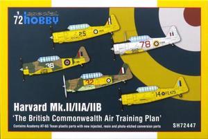 1/72 英・ハーバード Mk.II/IIA/IIB 英連邦航空訓練機構